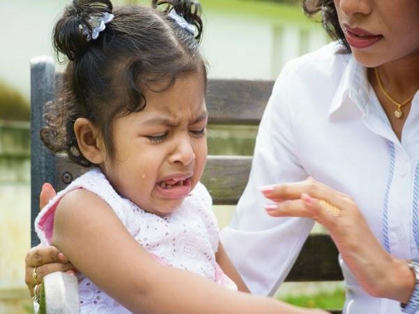 ¿Qué hacer cuando un niño se golpea la cabeza?
