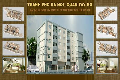 Chung cư mini Phú Thượng - Tây Hồ mở bán chỉ hơn 400 triệu