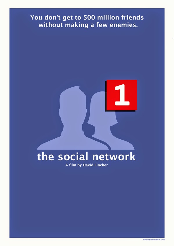 Minimalist Movie Posters Social Network