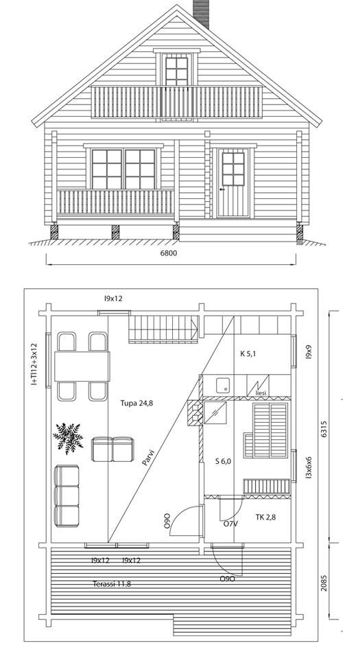 Viviendas unifamiliares arquitectura y construccion plano for Arquitectura y construccion