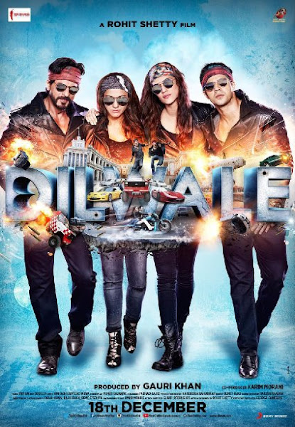 Poster Of Dilwale 2015 480p DVDScr Hindi