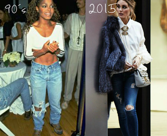 Antes e Depois: Tendência Anos 90