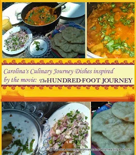 Hindu Dishes Inspired by the Movie The Hundred-Foot Journey (India)