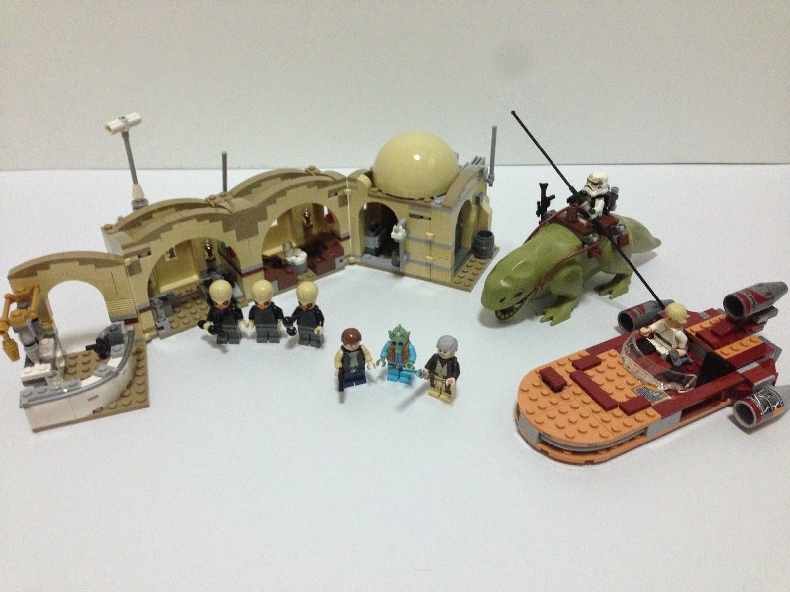 LEGO STICKER SHEET for 75052 STAR WARS MOS EISLEY CANTINA GENUINE NEW
