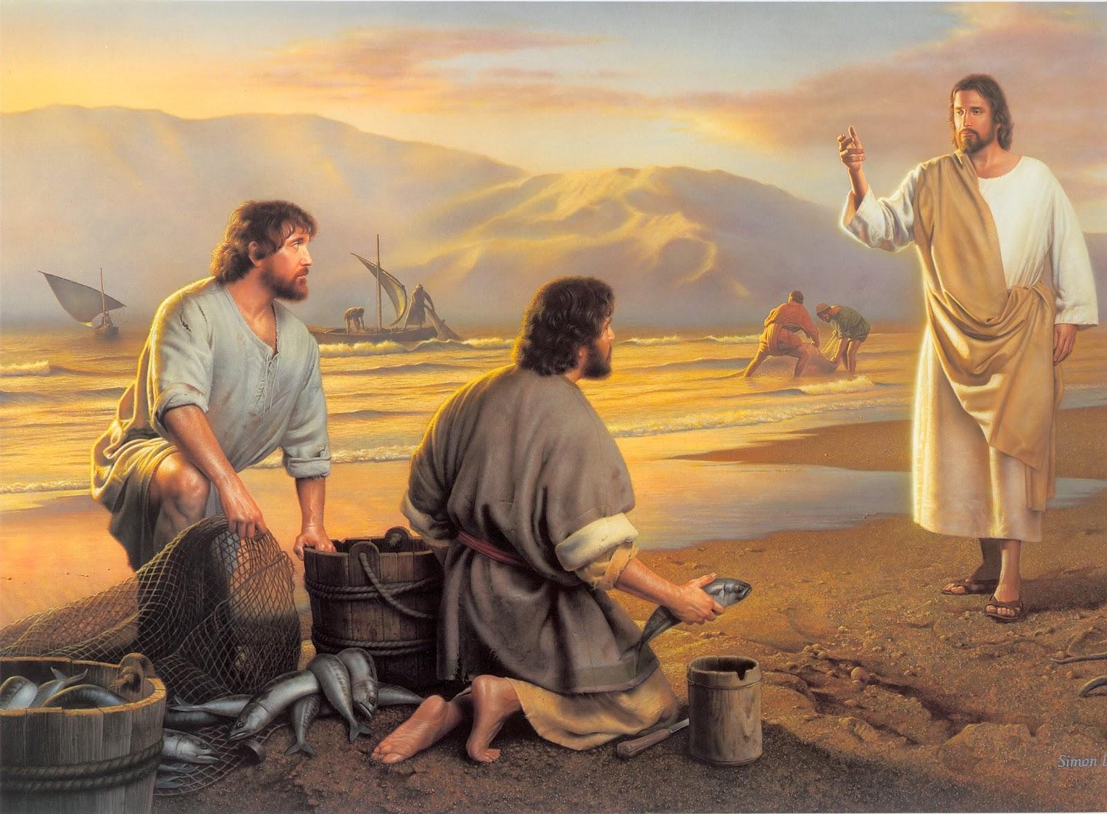 Jesucristo y sus apóstoles