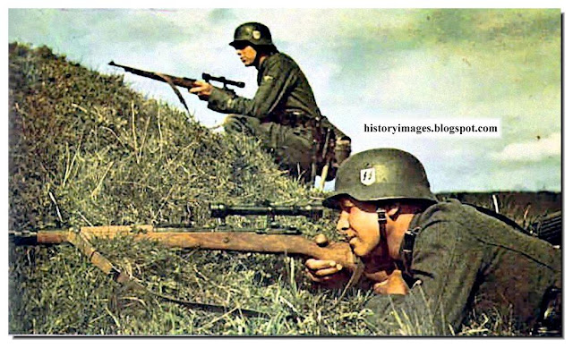 Waffen SS in action