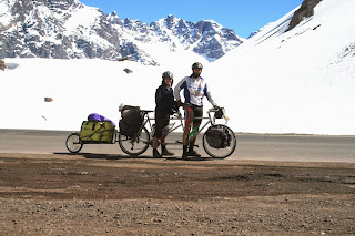 Paso de los libertadores, Los Andes, El mundo en tándem, round the world, mundoporlibre.com