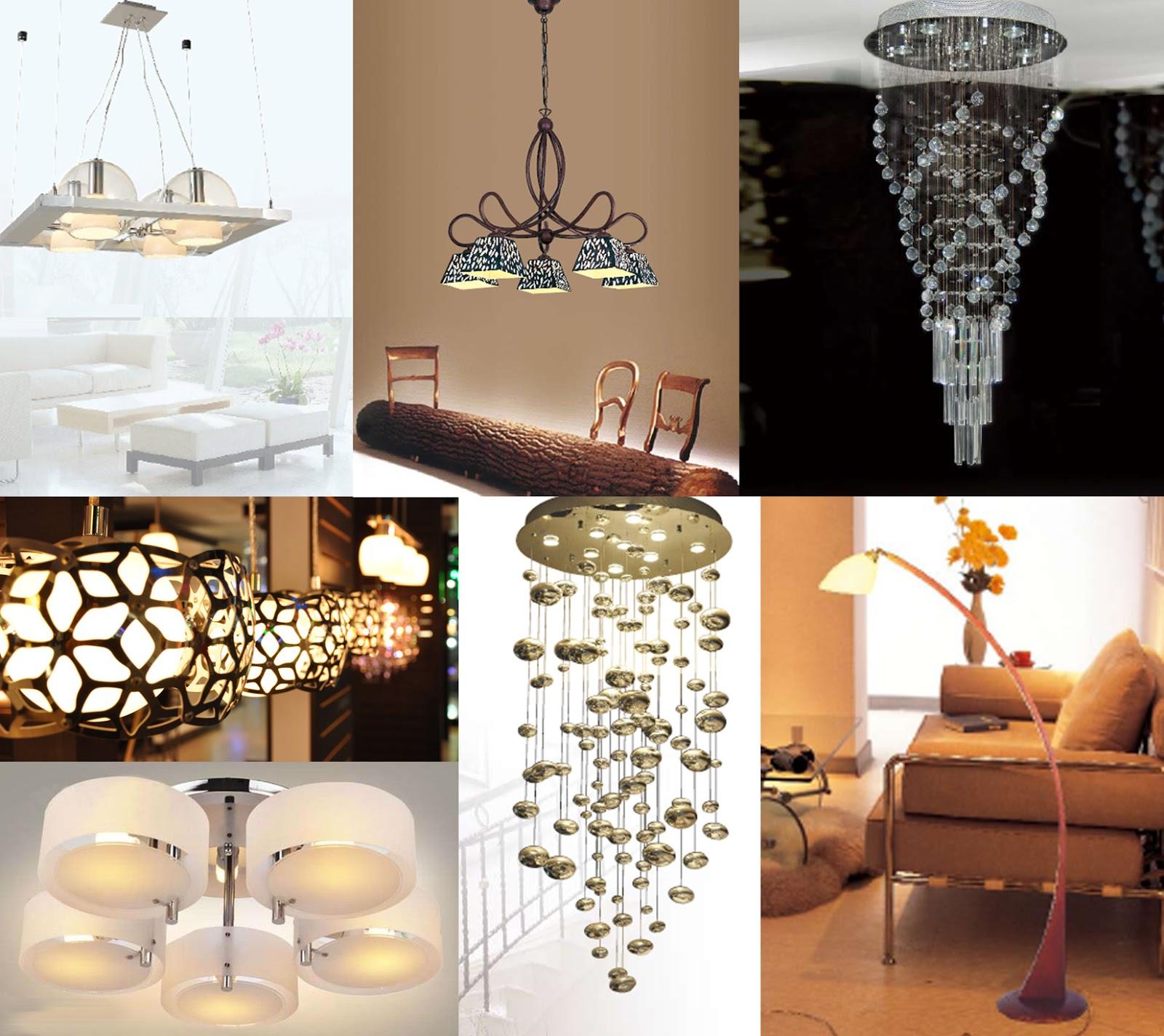 Iluminaci n l mparas y decoraci n del hogar dise o y decoraci n de interiores departamentos - Lamparas y decoracion ...