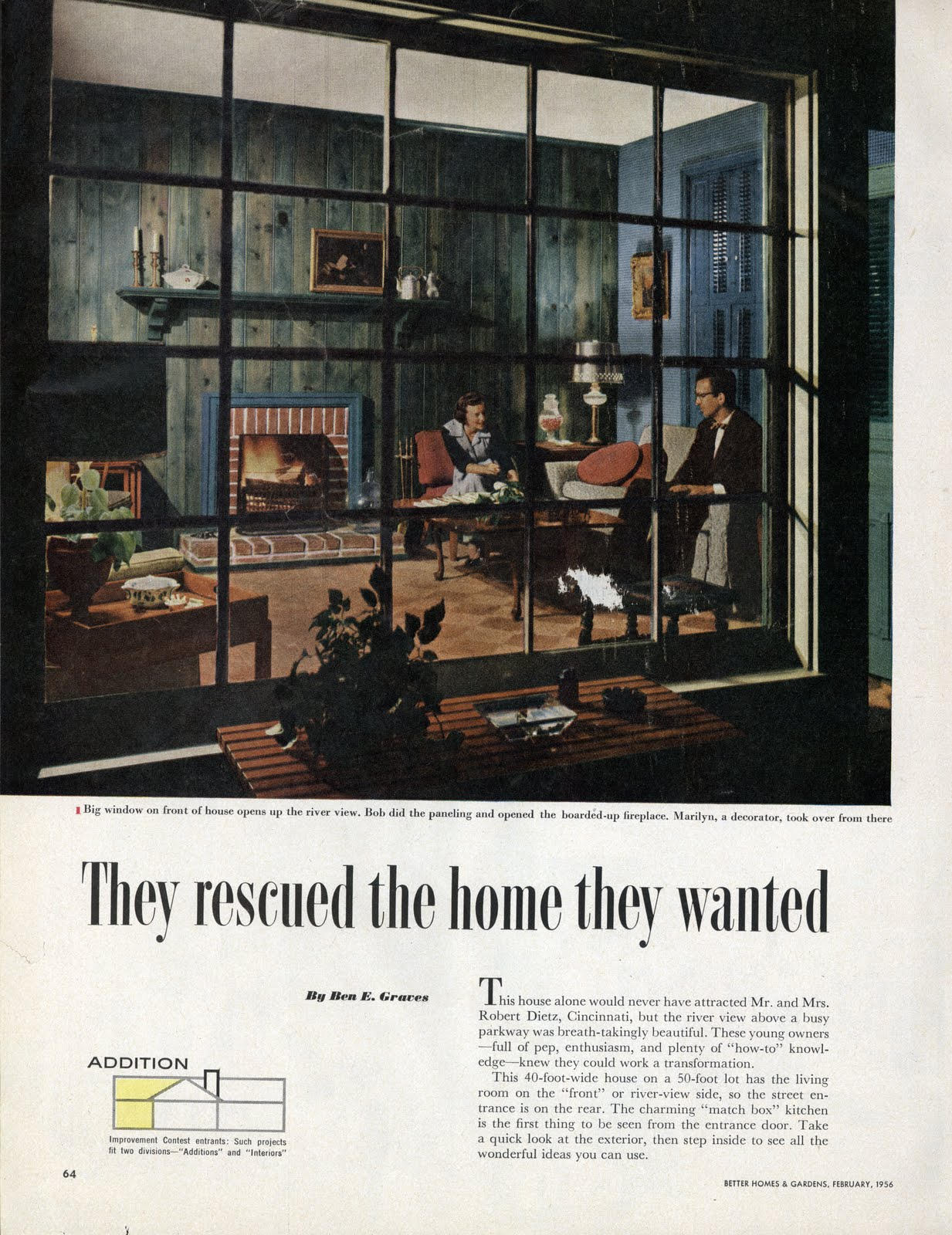 these advertisements are from better homes and gardens 1956 issues found on this great flickr site link - Better Homes And Gardens Past Issues