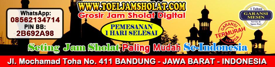 JAM SHOLAT DIGITAL MASJID