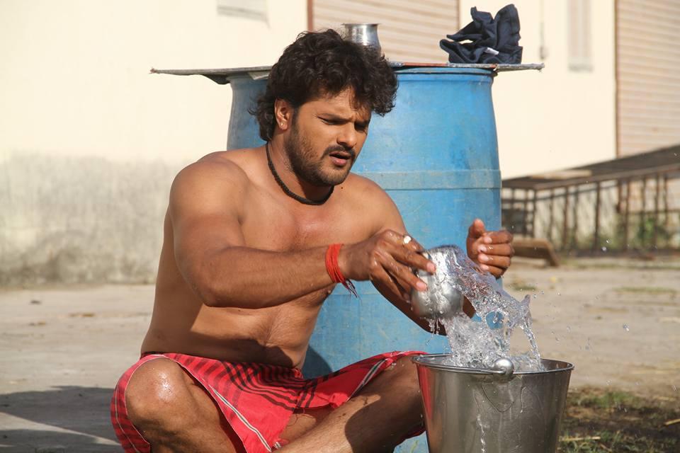 ON Set of Dabang Aashiq Bhojpuri Film Shooting photo