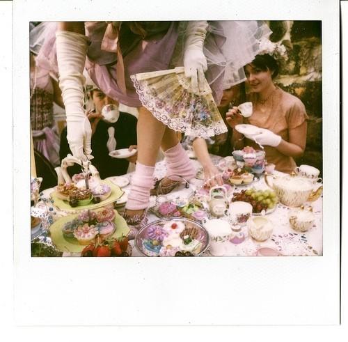 Crumpets bullshit unique birthday party ideas for Unique tea party ideas