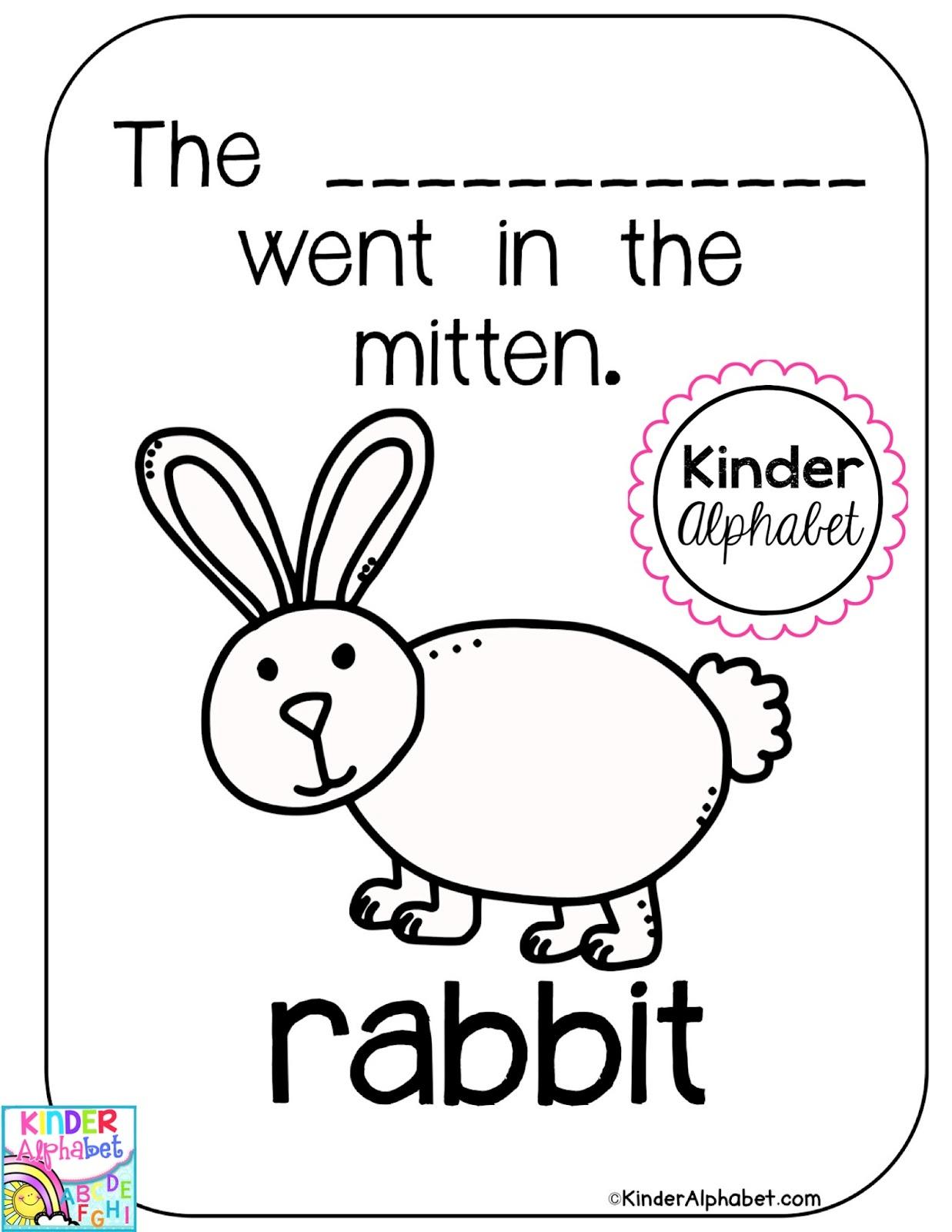 The Mitten FREEBIE and Favorite Winter Books