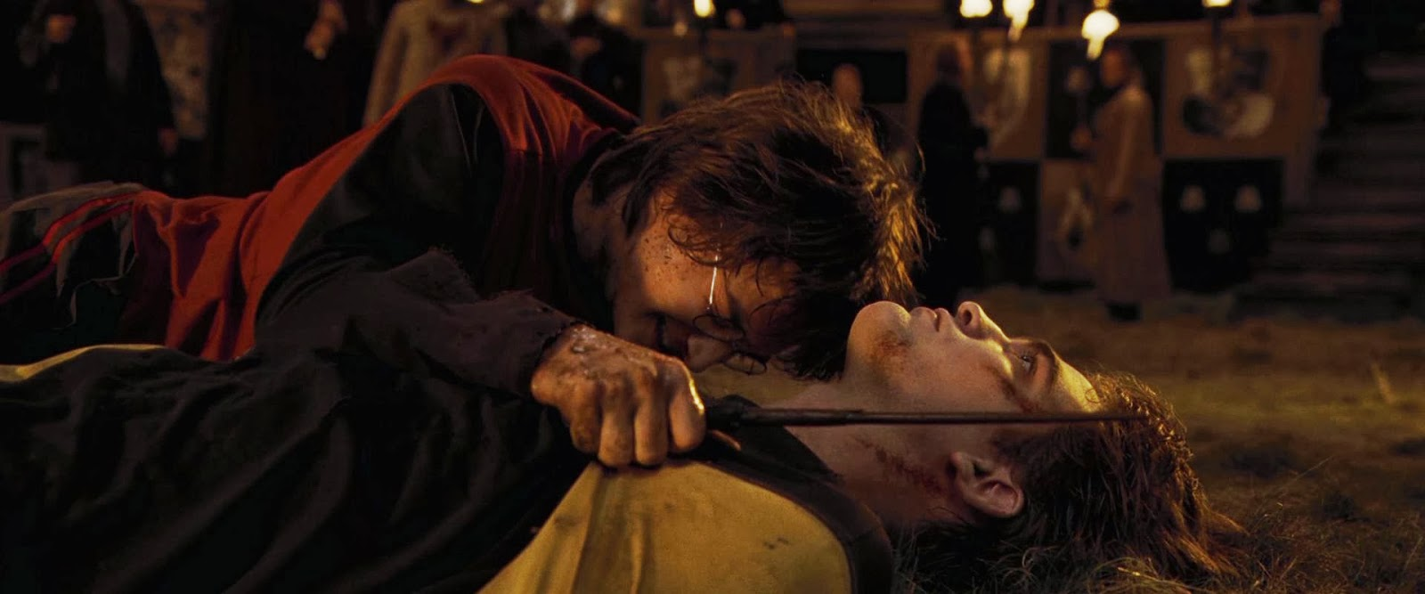 Harry Potter And The Goblet Of Fire Cedric Diggory Death Scene 25 Fictional Deaths Fr...