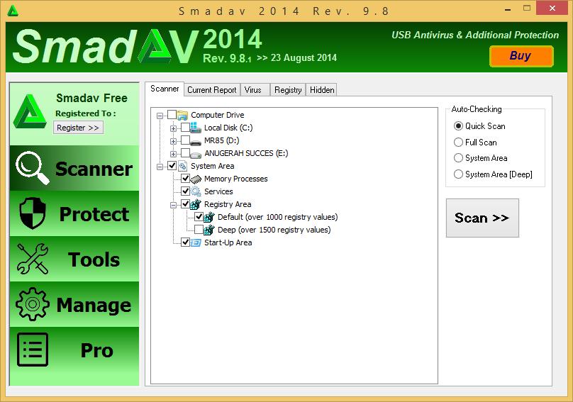 Smadav 2014 Rev 9.9.1 Versi Terbaru Gratis