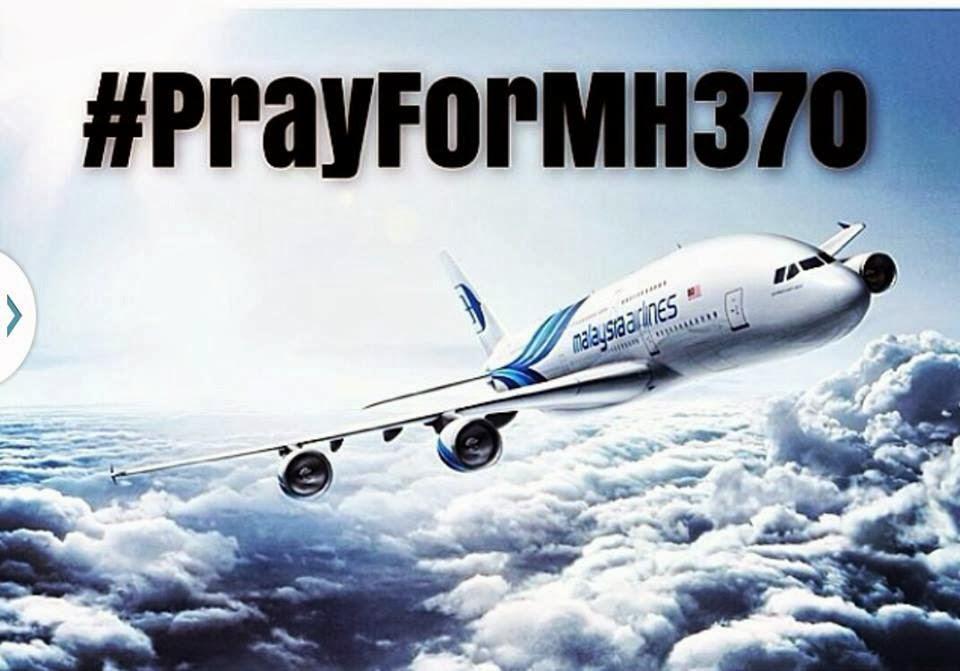 Doakan Agar Penumpang dan Anak Kapal MH 370 Selamat