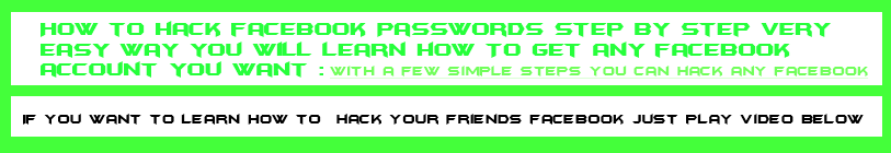 How to hack facebook very easy ways step by step