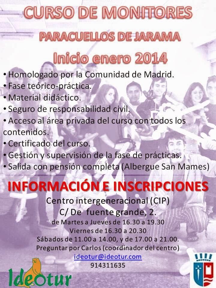 Curso monitor de ocio y tiempo libre paracuellos 2013 - Tiempo en paracuellos ...