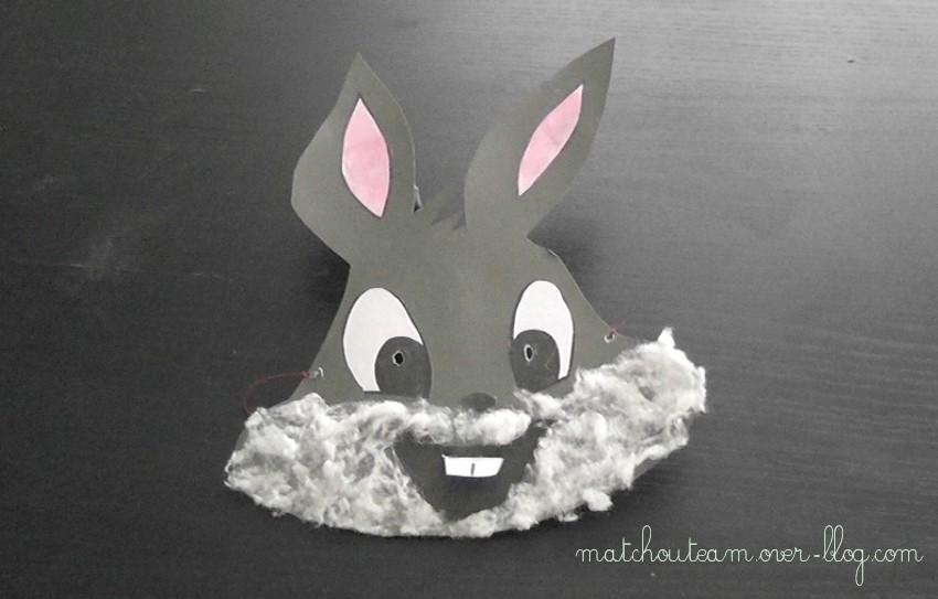 Ma Tchou Team Masque De Bugs Bunny