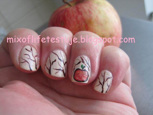 owoce na paznokciach, owocowe paznokcie