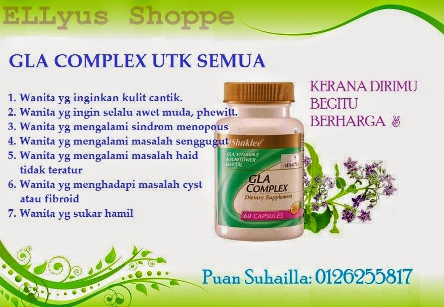 Khasiat Minyak borage dan minyak biji bunga matahari dalam GLA Shaklee