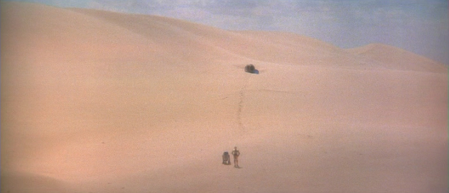 R2d2 And C3po Desert max sees movies...