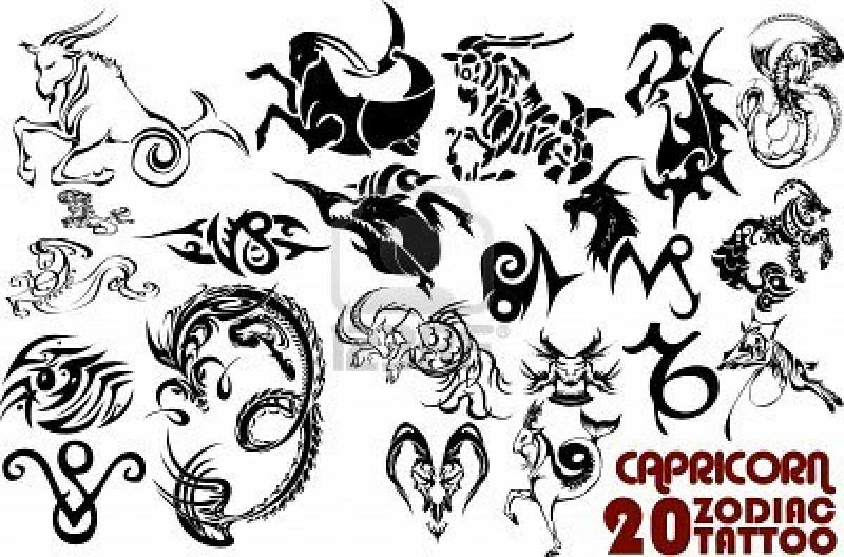 Значение татуировок «Козерог»