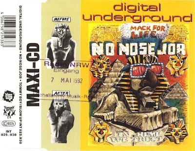 Digital Underground – No Nose Job (Germany CDM) (1992) (320 kbps)