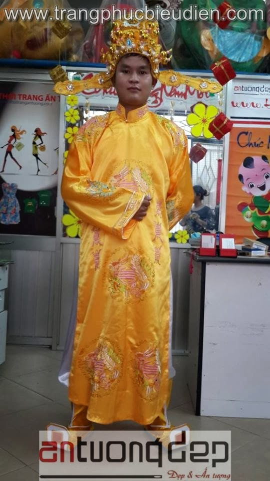 may bán trang phục vua