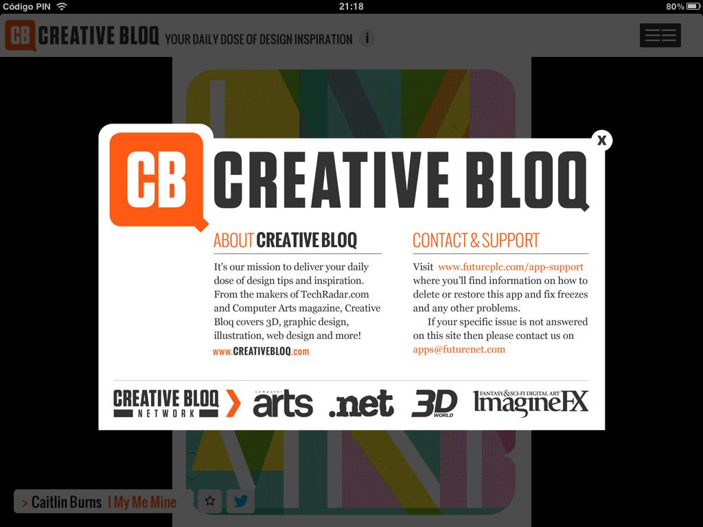 Http Www Creativebloq Com Portfolios Design Winning Ux Portfolio