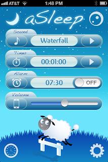 iphone app, iPad app, sleep app, white noise app