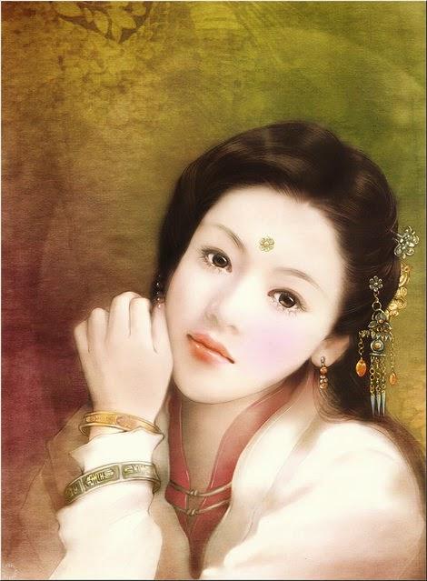 pintura chinesas lindas
