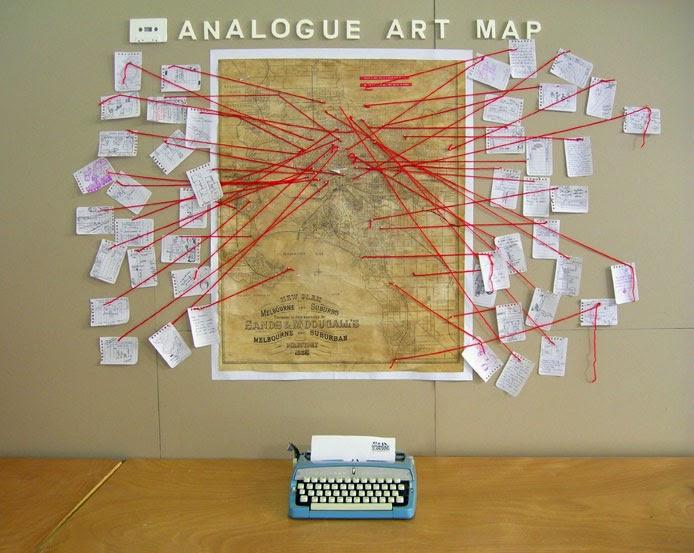 Analogueartmap - Map Artwork