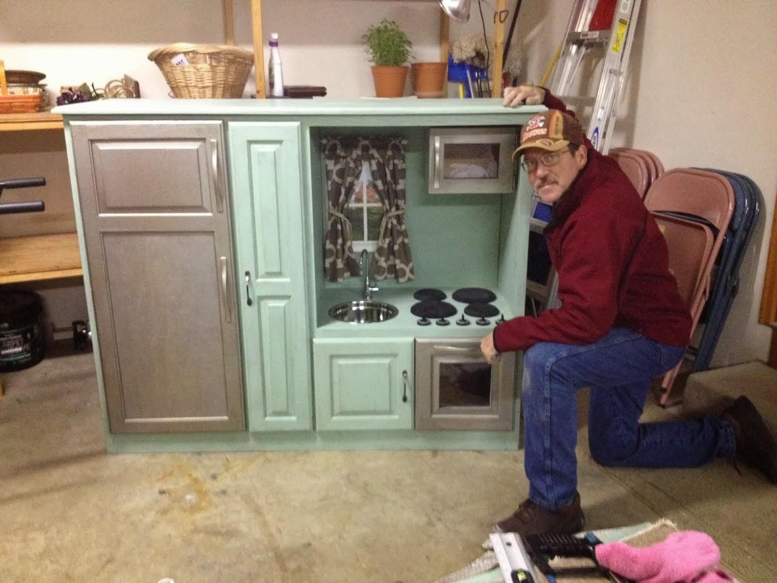 Baby Thompson Diy Play Kitchen Set