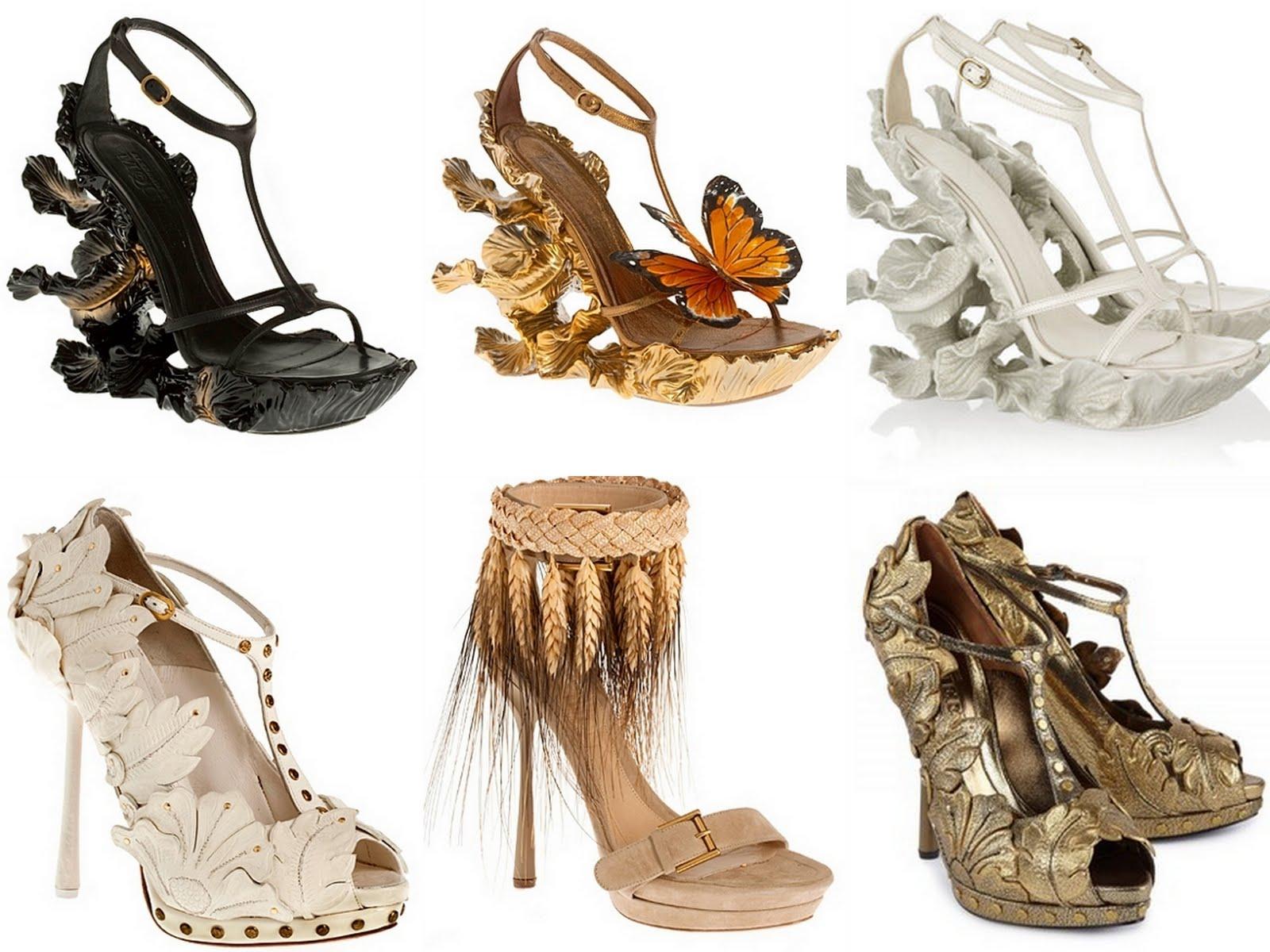 Fantasy Boots Men Shoes Illustration