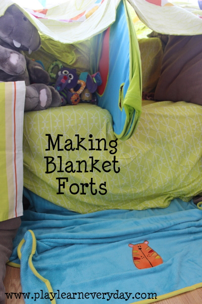 how to make a den out of blankets