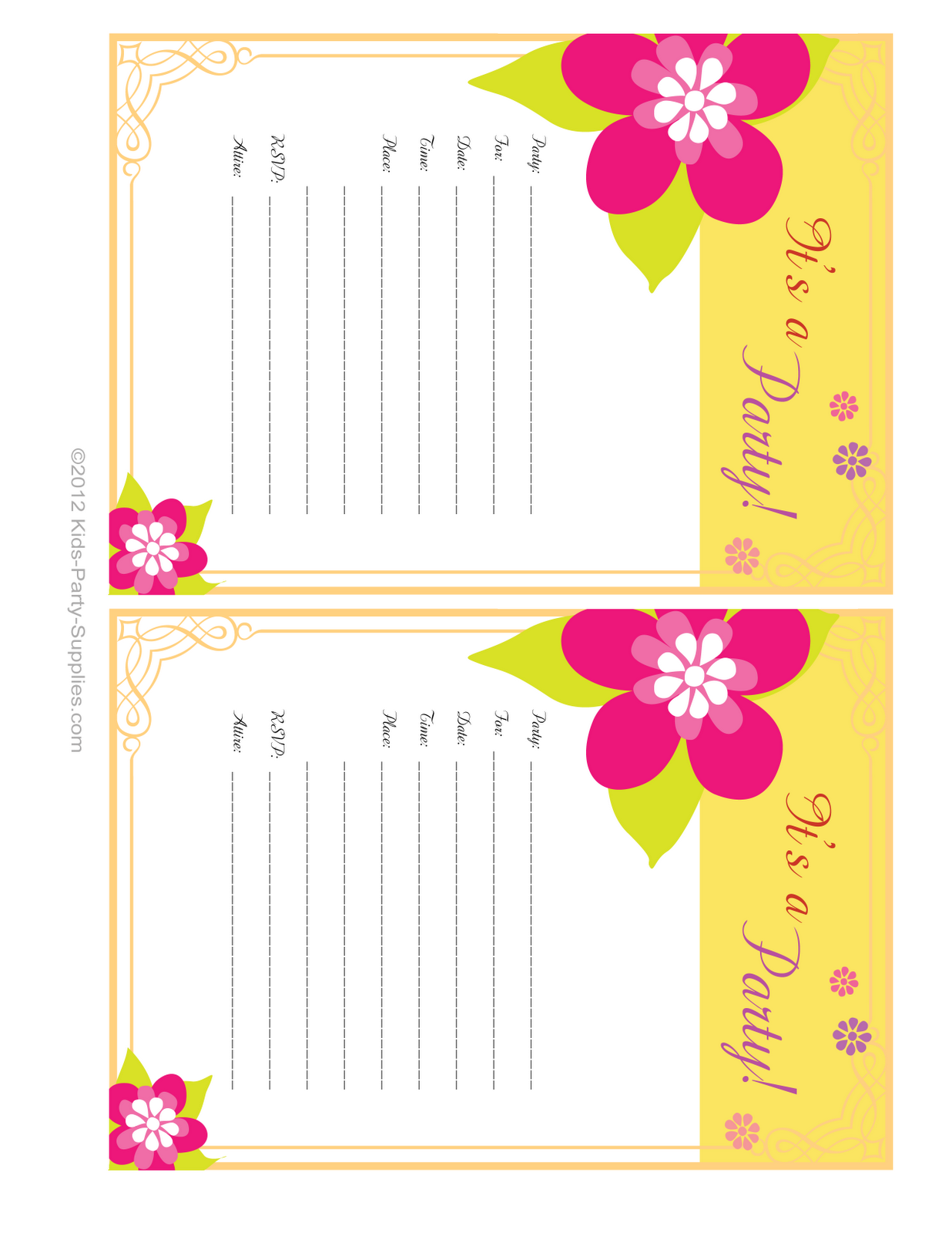 party invitation here s a luau party invitation i ve designed free ...