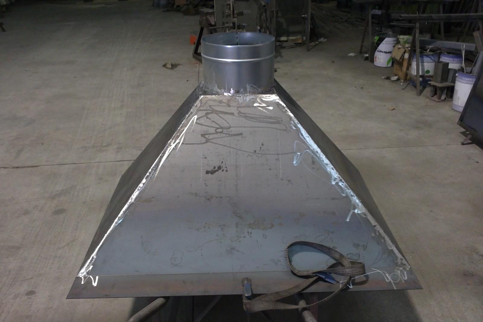 Talleres montiel campana barbacoa metalicas - Campanas para barbacoas ...