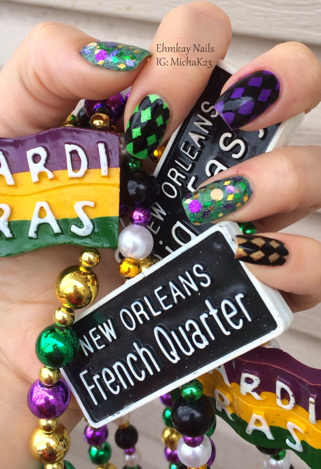 Nail Art Ideas » New Orleans Nail Art - Pictures of Nail Art Design ...