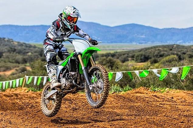Kawasaki KX100 2014