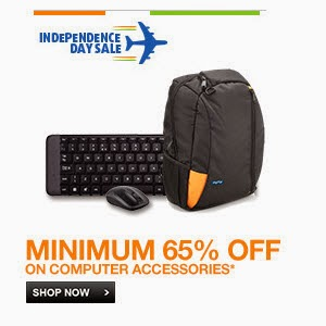 Computer Accesssories Minimum 65% off from Rs. 60 @ Flipkart
