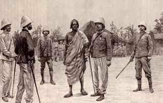Capitulación de Behanzín ante el general Dodds