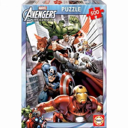 Puzzle Los Vengadores