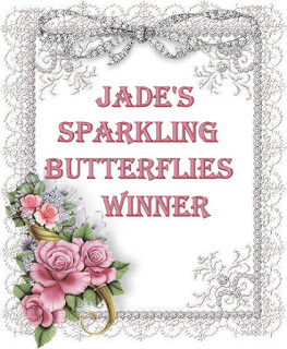 Winner at Jade's sparkling butterflies winner