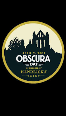 art black Atlas Obscura Day t shirt and poster