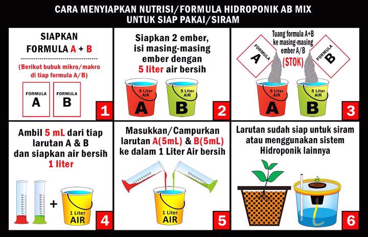 Cara Membuat Larutan Nutrisi Hidroponik