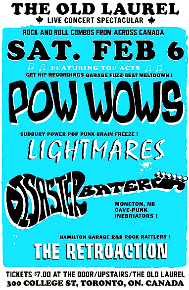 Pow Wows, Lightmares @ Old Laurel, Saturday