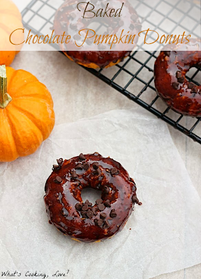 http://whatscookinglove.com/2013/10/baked-chocolate-pumpkin-donuts/