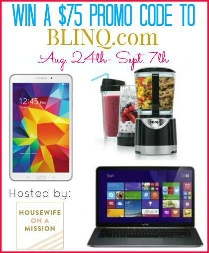 Do you love tech? Enter to win a $75 Blinq.com Gift Code here!