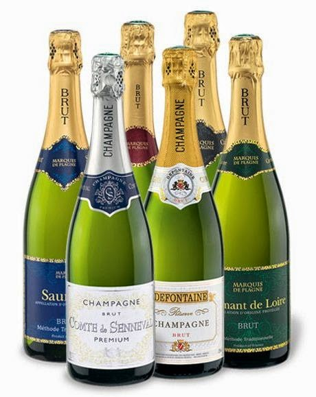 Champagner & Crémant Weinpaket